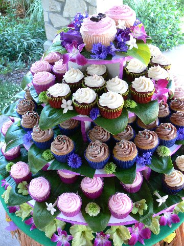 Cupcake Tree Wedding