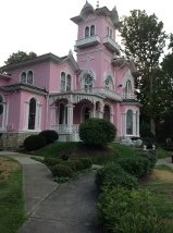 Wellsville Pink House